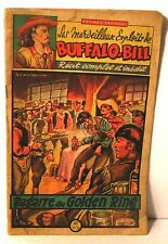 """récit complet illustré-Brantonne """"les exploits de buffalo-bill""""A- Fronval 1947"""