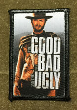 Clint Eastwood The Good The Bad and the Ugly Movie 2x3  Morale Patch Tuco