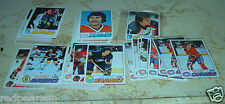1977 1978 77 78 TOPPS HOCKEY STARTER PARTIAL SET CARD LOT 120 + CHECK SEE LIST