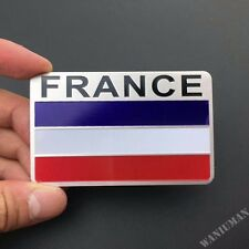 France French Flag Emblem Car Badge Decal Sticker For Peugeot Citroen Renault