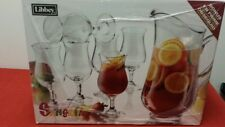 7 Pc Sangria Set By Libbey Simple Style Entertaining made Easy Pitcher Glasses