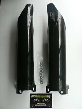 KXF250 2009 2010 2011 Plastic Fork Guards Protectors Covers Black KX250F