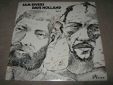 SAM RIVERS DAVE HOLLAND Vol. 2 ORIG SEALED NEW NM LP 1977 IAI 373.848 NoCutOut