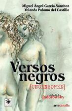 Versos Negros by Miguel Garcia (2012, Paperback)