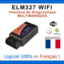 ★ ELM327 WIFI ★ Outil Diagnostique Multimarques - Apple Android Pc Tablette Obd2