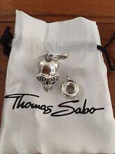 THOMAS SABO Charm Club   Skull charm   Sterling Silver