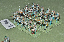 25mm ACW confederate 24 infantry (4079) metal painted