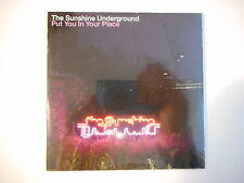 THE SUNSHINE UNDERGROUND : PUT YOU IN YOUR PLACE [ CD SINGLE NEUF PORT GRATUIT ]