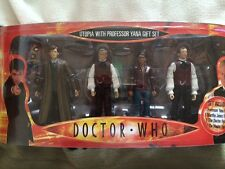Doctor who  utopia with professor yana,  Martha, 10th doctor ,Master  figure set