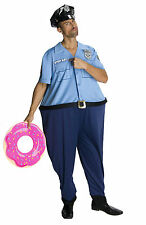 Lots Of Love Officer Glutz Mens Fat Police Officer Humorous Adult Costume