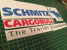 Tamiya 1/14 Truck Reefer Trailer Schmitz Cargobull Decal Sticker Graphics