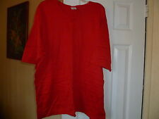 Lot of 2 tops/tunics short/3/4 sleeve good cond. Mondi and 1 unknown size 2X.