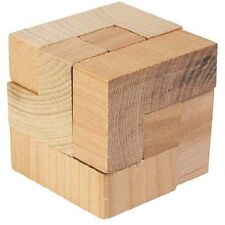 The Magic Cube - Wooden Puzzle