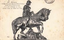 ORLEANS 609 statue de Jeanne d'Arc par la princesse Marie d'Orléans timbrée