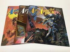 APACHE DICK #1-4 (ETERNITY/TROUBLE WITH GIRLS/061649) COMPLETE SET LOT OF 4