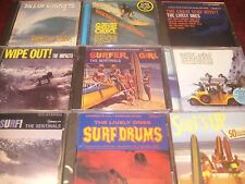 CLASSIC SURF ALBUMS SENTINALS LIVELY ONES IMPACTS BEACH BOYS DICK DALE CD SET