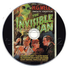 The Invisible Man (1933) Comedy, Horror, Sci-Fi Movie/Film on DVD