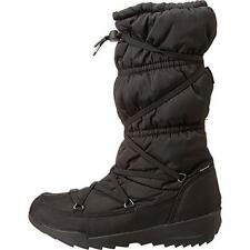 Kamik 1491 Womens Luxembourg Black Quilted Waterproof Snow Boots Shoes 7 BHFO