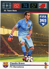 Claudio Bravo #30 FC Barcelona  XL Adrenalyn Fifa 365 Card (C92)