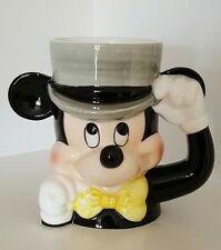 Disney 3D Mickey Mouse Mug - RARE