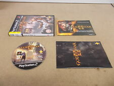PS2 Playstation 2 Pal Game GOD OF WAR II with Box Instructions