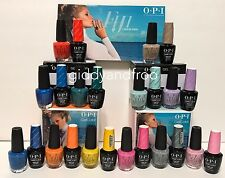 2017 OPI Gel Color + Matching Lacquer -  Fiji Collection -12 COLOR SET .5 FL OZ