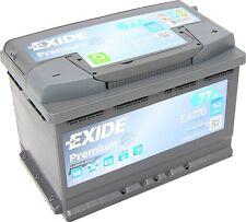 EXIDE PREMIUM Carbon Boost EA770 12V 77Ah Erstausrüster neuste Generation A-M