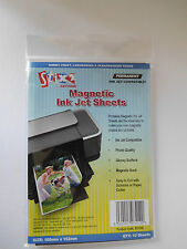 Stix2 Magnetic Inkjet Sheets Photo Paper 10 sheets Per Pack 100mmx152mm