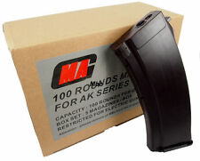New MAG 100round Magazine for AK-74 Airsoft AEG Plasctic Plum (5pcs boxset)