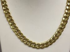 "14k Gold Miami Cuban Curb Link 20"" 10 mm 25 grams chain/Necklace (REL)"