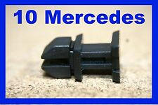 10 Mercedes boot trunk trim strip cover fastener clip SLK CLK W220 W140 S