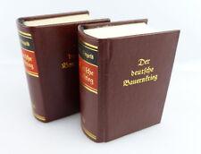 2 Minibücher: Der deutsche Bauernkrieg Friedrich Engels altdeutsche Schrift e351