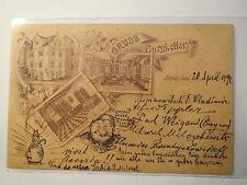 Jena - Burschenschaft Arminia - Gruss vom Burgkeller - 1894 / Studentika