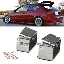 96-00 Civic EK4 EK9 CX DX SI Hatch TR Style Roof Spoiler Wing ADJUSTABLE BRACKET