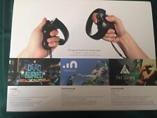 Brand new Oculus rift Touch Controllers Oculus Touch  sealed black