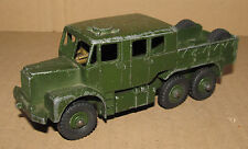 B MECCANO DINKY TOYS 689 MILITARY ARTILLERY TRACTOR