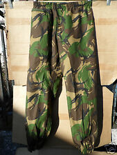 GENUINE DUTCH ARMY WOODLAND CAMO TRI-LAMINATE (GORETEX) OVERTROUSERS -85/95/7080
