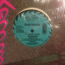 SAM SAVON • My Heart Alone • Vinile 12 Mix • 1991 CUTTING RECORDS