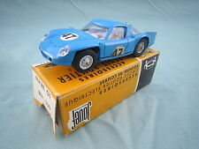 AB685 JOUEF ALPINE GT 3000  SLOT CAR CIRCUIT 1/40  Ref 358 BON ETAT