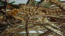 Borsa misto di nastri metallici, corde, Trecce