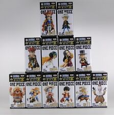 ONE PIECE WCF World Collectable Figure KAGAYAKI vol.1&2 Complete set Free Ship