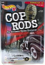 Hot Wheels Cop Rods '59 Impala Birmingham AL Police Cruiser 1/64 MOC 1999