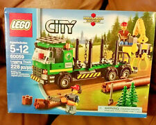 City Logging Truck LEGO 60059 Retired New Factory Sealed Box