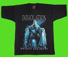 IMMOLATION-MAJESTY AND DECAY (S) t-shirt NEW