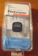 Sportline Step Counting Pedometer 330DS Digital Accuracy