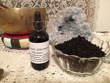 Organic Elderberry Tincture Extract 2floz Anti-Viral, West Nile, Coughing