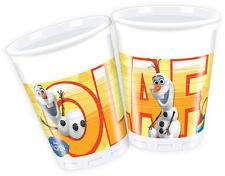 Disney Frozen Olaf en La Haya Pack De 8 Autorizado Tazas Gratis 1ST Clase Envío