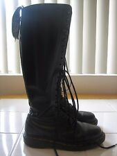 Dr Martens Black Smooth 20 Eye Hole Boots MADE IN ENGLAND UK Size 3/US Size 4