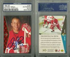 JAROME IGINLA Signed 1994-95 Upper Deck SP #181 PSA/DNA Slabbed Autograph Rookie