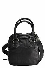 Liebeskind Bag Ottilie Double Dyed Leather Crossbody Satchel In Mouse